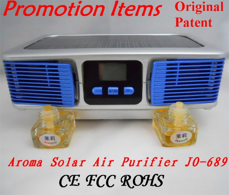 Newest Promotion Gift Set For 2012(Solar Ionic Air Purifier JO-689)