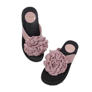 Women's Pvc Jelly Bowknot Shoes Summer Flip Flop Slipper Girl Pcu Woman Flat Sandal