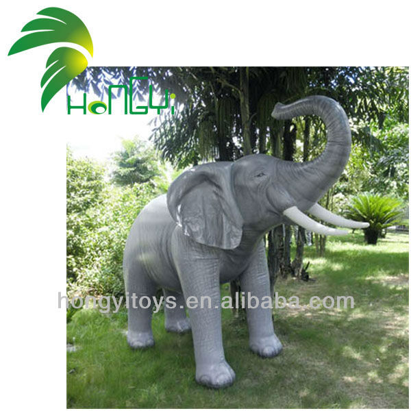 2016 Customized New Style Printed Giant Inflatable Elephant Balloon, Inflatable Cartoon Elephant For Decoration