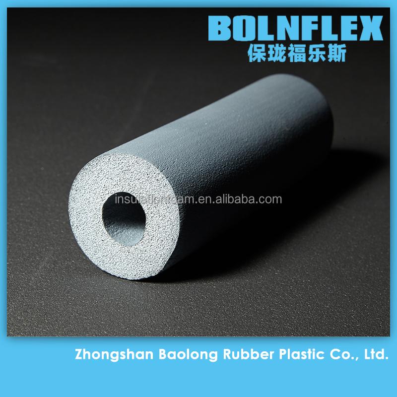 Nbr Pvc Rubber Foam Pipe Insulation Material Heat