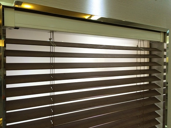 Window Blinds Motorized Wooden Venetian Blind Window