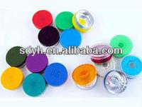 10ml tubular vial flip off cap with logo
