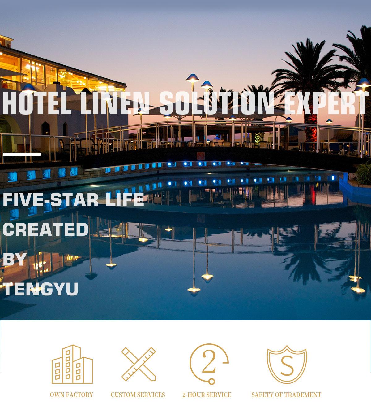 Jiangsu Tengyu Weaving Co Ltd Hotel Towel Bathrobe