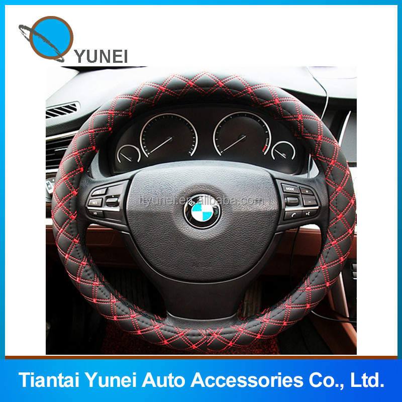 Cheaper pvc four season car steering wheel cover