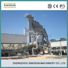 40-160T/H capacity easy installing easy moving hot mix mobile asphalt batching plant, mobile bitumen mixer