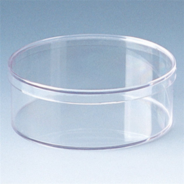 Round Clear Chocolate Plastic Box Packaging/ Event & Party Table Centerpieces