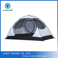 4 season Waterproof 2 Person Backpacking Hiking Outdoor Camping Folding Tent