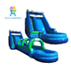 Commercial PVC Material Giant Inflatable Water Slide For Adult And Kids With Pool