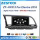 touch screen car audio system for Hyundai Elantra 2016 car stereo gps navigation car tv cd mp3 mp4 audio player many languages