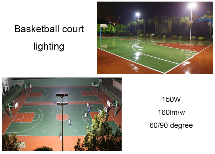 Durable quality 160lm/w CE ROHS IP66 400 watt LED flood light outdoor sport area light 400w led flood light 10 years lifespan