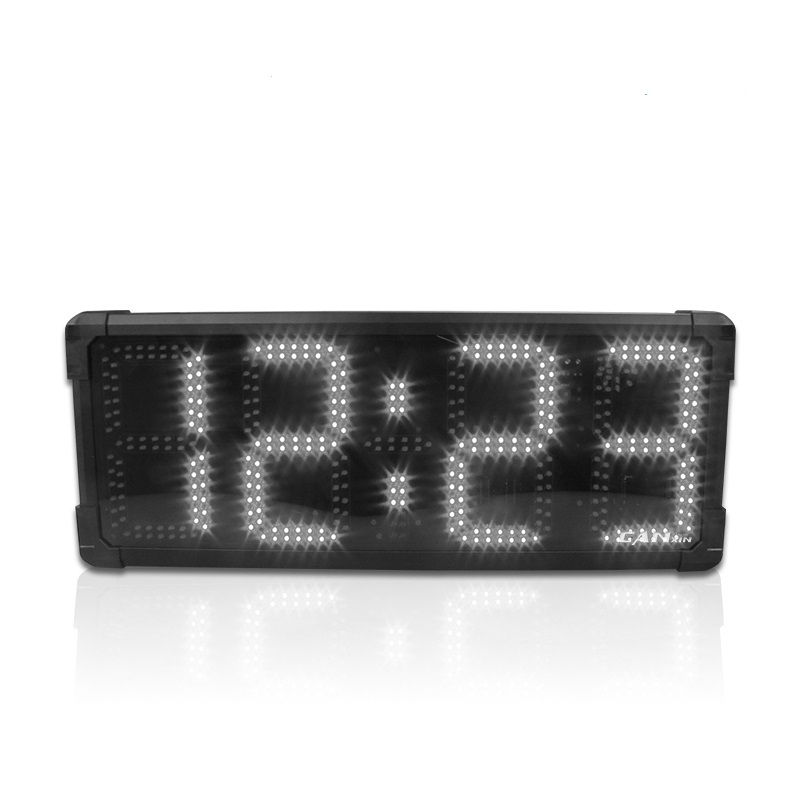 Ganxin All'aperto Attrezzature Per Il Fitness Timer Display Visioni Led Segni Indoor Flessibile Display A Led