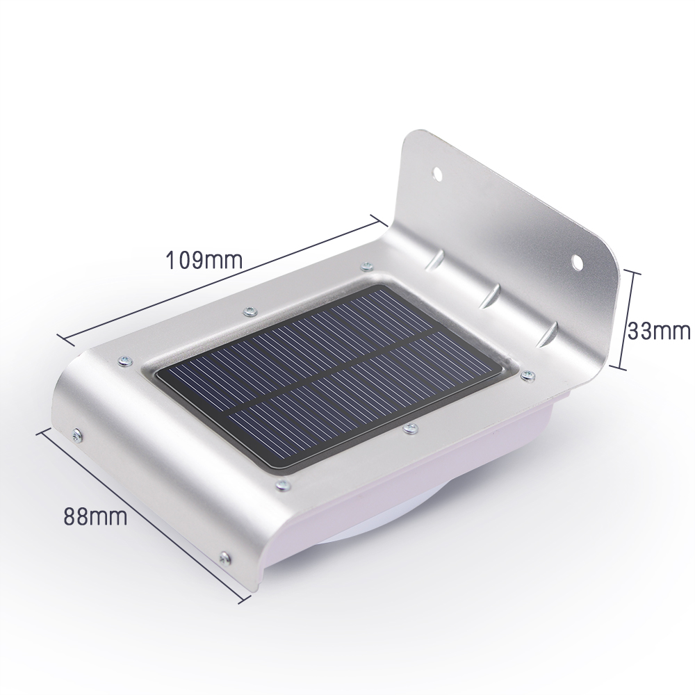 Best Selling Outdoor Lighting Solar Led Light Lithium Battery Garden Lights Motion Sensor Solar Lamp