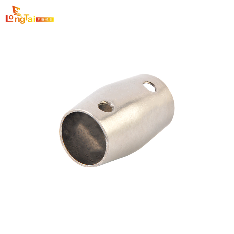 Hardware rvs reling ronde bar connector