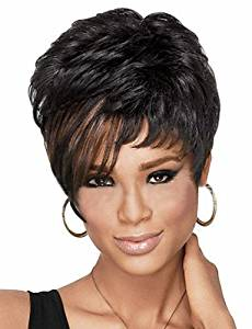 Wigs have an attractive convenience fashion European and American Fashion Hair Synthetic Wig High Temperature Wire Fashion Short wigs