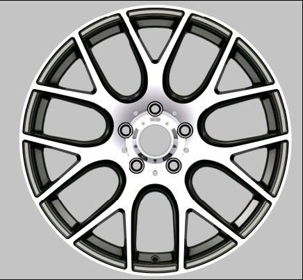 Aluminum Car Wheel Rims (12-26 Inch)