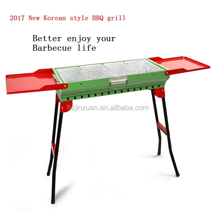 JINXUAN Hot new products big BBQ Grill , PTFE bbq grill, non-stick bbq cooking bulk outdoor barbecue bbq grill buy from china