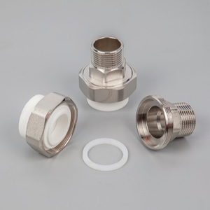 PPR pipe fitting male threaded union