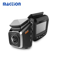 new arrival Full hd two lens car dash cam 2.0 inch car camera with wifi gps track