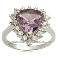 trillion shaped amethyst ring, best jewelry design in 2012, crown jewelry
