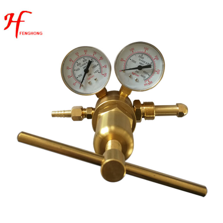 New products Ultrahigh oxygen pressure regulator