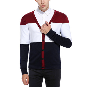 Polyester & Cotton Man Knitwear & loose knitted wholesale fashion 104104