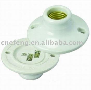 Porcelain Lampholder Pull Chain Light Socket