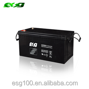 sealed lead-acid 12v 200ah solar panel power system battery