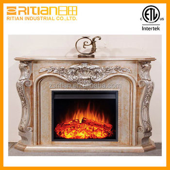 faux electric fireplace insert heater with mdf fireplace