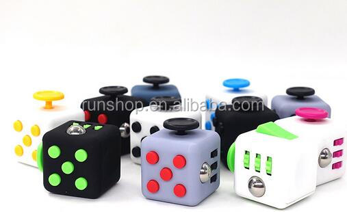 2017 TOP SALE Fidget Cube The Ultimate 3.3CM Desk Toy 6-Side Magic Stress Relief Fidget Cube