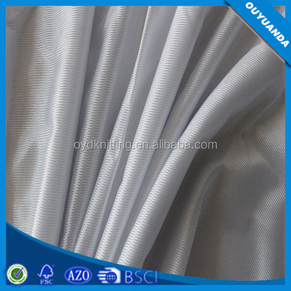 Cheap Lining Fabric Polyester, Knitted Tricot Dazzle Fabric For Lining