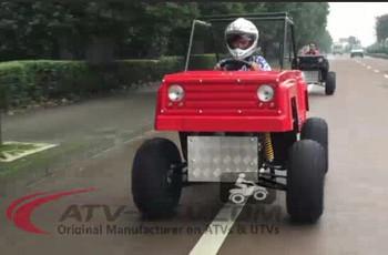 Monster Truck 2016 New 150cc Street Legal Atv Big Foot Monster Car