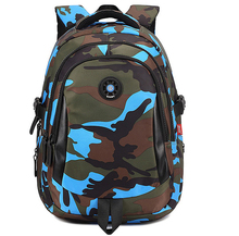 Top Brand Orthopedic Camouflage Children School Bags Backpack Mochila For Teenagers Kids Boys Girls Laptop Bag Knapsack Satchel