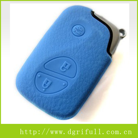 Remote control LEXUS silicone car key case