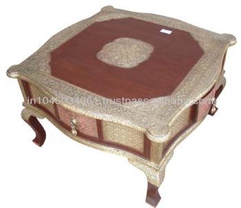 Miraculous Brass And Wooden Sitting Stool In Indian Style Buy Wood Folding Stool Cheap Wood Stools Small Sitting Stool Product On Alibaba Com Theyellowbook Wood Chair Design Ideas Theyellowbookinfo