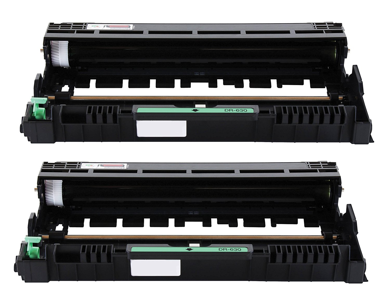 Printronic 2 Pack Compatible Brother DR630 Drum Unit for Brother MFC-L2700DW HL-L2340DW MFC-L2740DW DCP-L2520DW DCP-L2540DW HL-L2360DW HL-L2380DW HL-L2300D MFC-L2720DW HL-L2320D MFC-L2705DW Printer