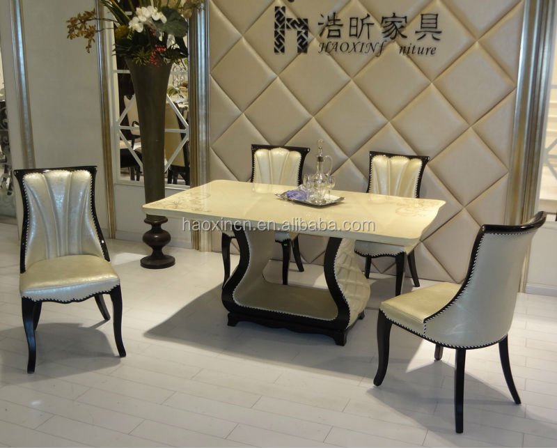4 Seater Dining Table And Dining Chair/ Dining Table Set T2017-m  ...