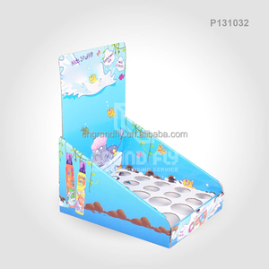 Quality Cardboard Small Counter Display Stands POP Carton PDQ Box for Baby Soap