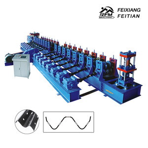 2018 feitian highway guardrail plate roll forming making machine