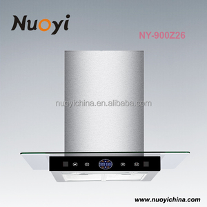 Factory price latest unique kitchen appliances gas cooker hood electric motor