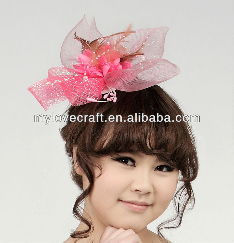 MYLOVE bridal hair accessory fascinator hats wholesale MLXM013