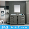 Good Quality Pine Angle Floating Round Bathroom Vanity Furniture