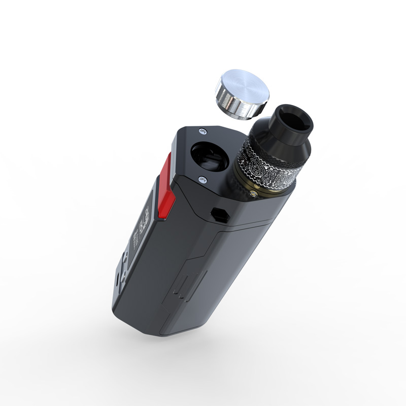 IJOY RDTABOX Triple Starter Kit with with 15mm diameter filling hole and LED light