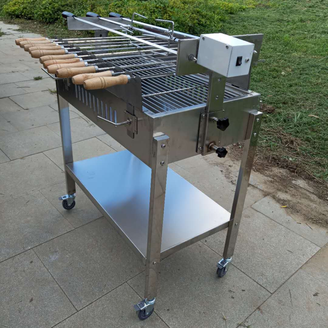 Chypre charbon Barbecue Grill chypriote grec Rotisserie BBQ foukou