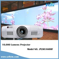 FLYIN WUXGA Full HD Native 10000 Lumens Projector DVI HDMI Motorized Lens 3D Mapping Hologram Projector