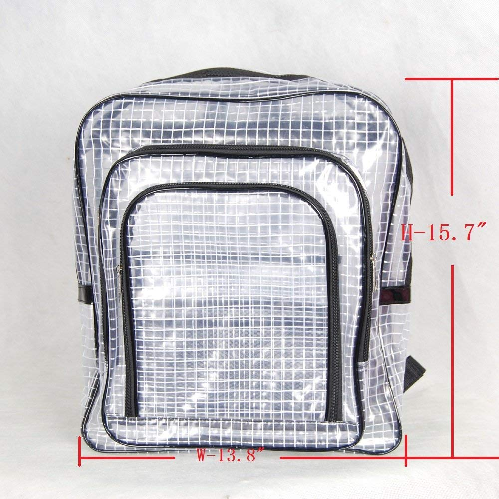 Get Quotations 15 7 Inch 40cm35cm15cm Anti Static Clear Pvc Backpack Cleanroom Engineer Tool Bag Computer