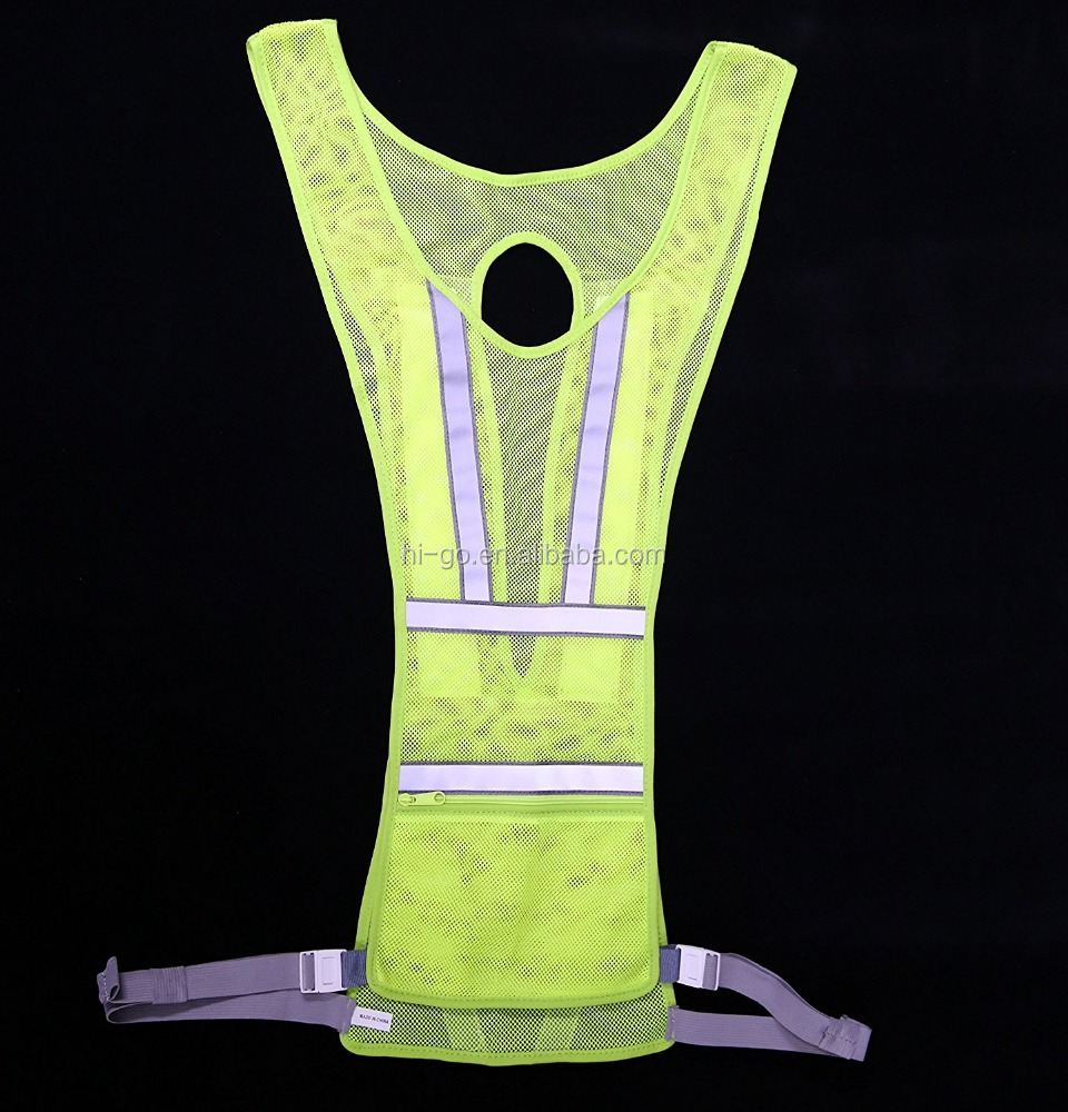 new products 2017 road <strong>safety</strong> green flashing led <strong>safety</strong> vest