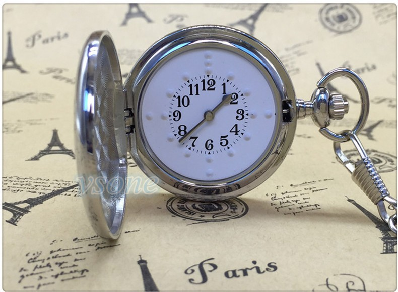 Tactile Pocket Watch for Blind People or Visually Impaired ...