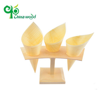 Perfect quality disposable pine wooden cone