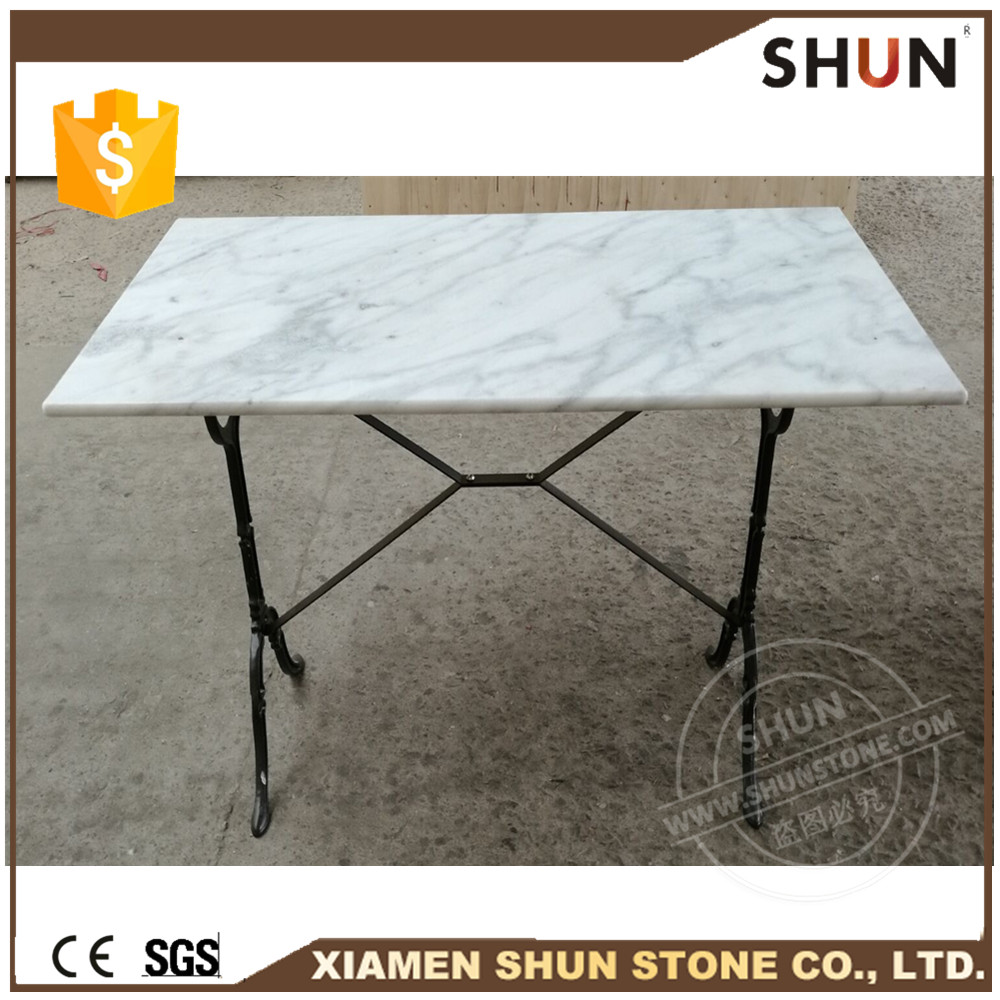Marble table dining,Marble top nail table,Marble top dining laminated table