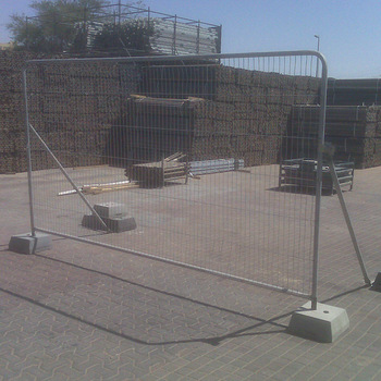 Famous Brand Flexible Temporary Stand Alone Chain Link Fence Panels